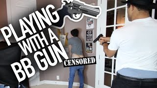 Playing w/ A BB Gun Thumbnail