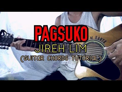 PAGSUKO- Jireh Lim ( Easy Guitar Tutorial )