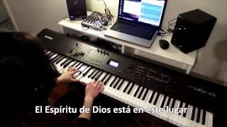 El Espiritu de Dios esta en este lugar - pista instrumental piano, karaoke