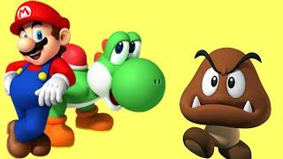 Супер Марио спасает принцессу Пич Мультик ИГРА для детей Часть 1  мультики для детей