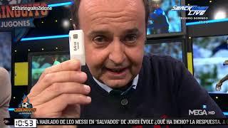 Juanma le entrega un PENDRIVE a Pedrerol: