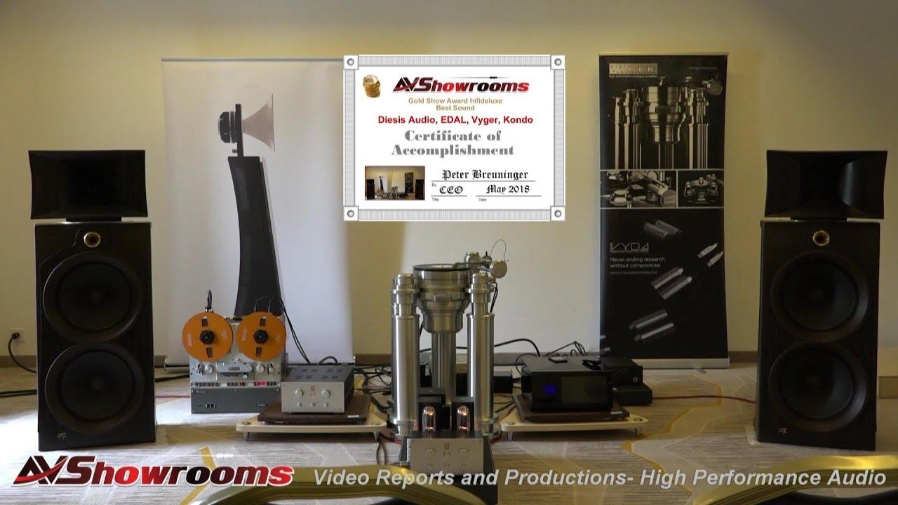 Diesis Audio, Open Baffle Horn Loudspeakers, Edal, Vyger Turntable, Kondo  Amplifiers, hifideluxe 201
