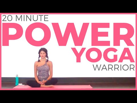 20 Minute Power Yoga | Warrior Strength Level 1