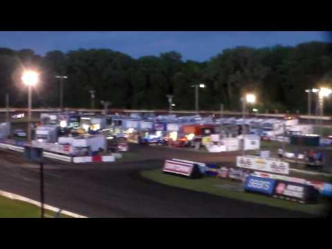 World Of Outlaws Late Models Last Chance @ Hamilton County Speedway 07/07/16