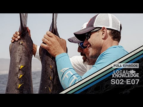 Puerto Vallarta Offshore Giant Yellowfin Tuna Fishing S02 E07 Cow Tippin