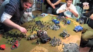 [Hobbygames.ru] Warhammer 40k - Кампания для новичков - Битва 01(Задача: всех убить. Расстановка: четверти. К сожалению слишком медленно всё делали. Пришлось закончить на..., 2011-09-04T10:21:44.000Z)