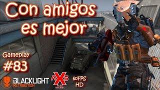 """Blacklight Retribution Gameplay #83 """"Con amigos es mejor"""" En español Tactical sub machine gun"""