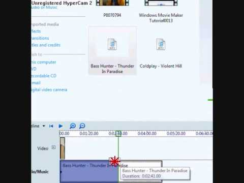 Windows Movie Maker - How To Convert Files To .wmv