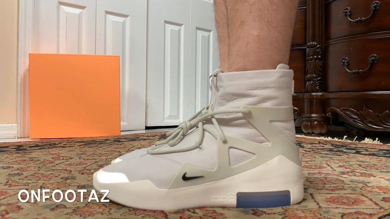 Nike Air Fear Of God 1 Light Bone On