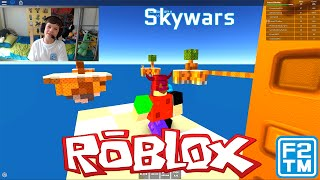 Skywars - Roblox (I SHOUT A LOT LOL)