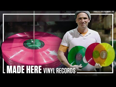 How Your Favorite Vinyl Record Is Pressed