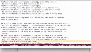 Emacs: Özgür Yazılım Devriminin Editörü