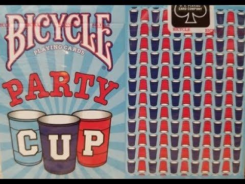Bicycle Party Cup Deck Review - YouTube