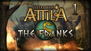 Total War: Attila - Gameplay ~ The Franks Campaign #1 - Saxon Blood!