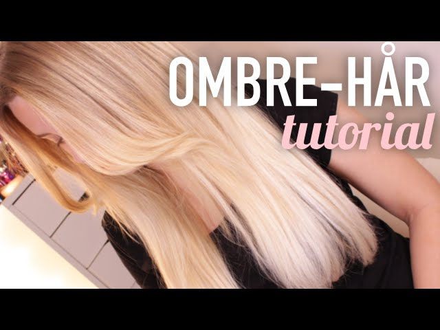ombre hår hemma