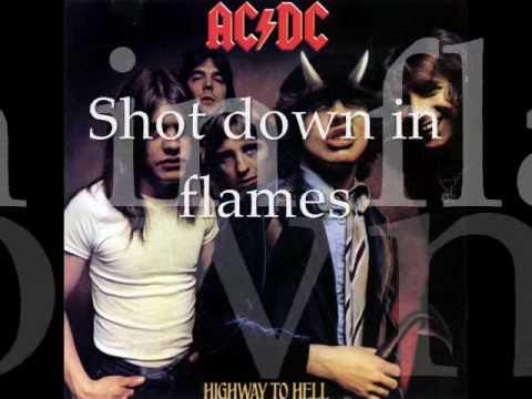 AC/DC Shot Down In Flames (Lyrics)