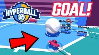 ROCKETLEAGUE.IO The New #1 Game On The App Store! | Hyperball Gameplay (iPad Pro 4K)