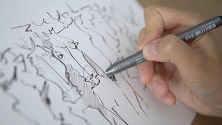 Как рисовать карандашом ? ???? Обзор художественных материалов . Графика ART