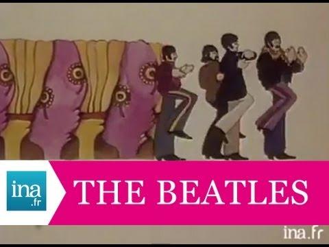 """The Beatles  """"Yellow Submarine"""" présenté par Patrice Blanc-Francard - Archive vidéo INA"""