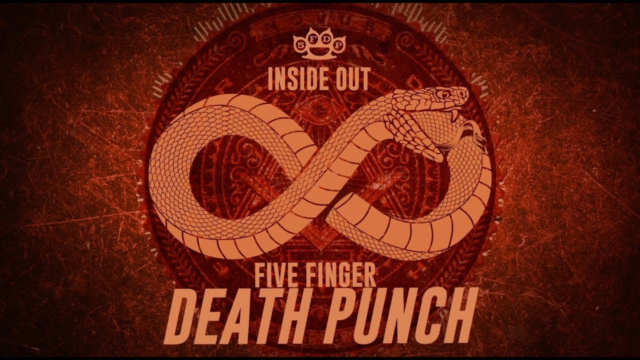 Five Finger Death Punch Inside Out Official Lyric Video Youtube