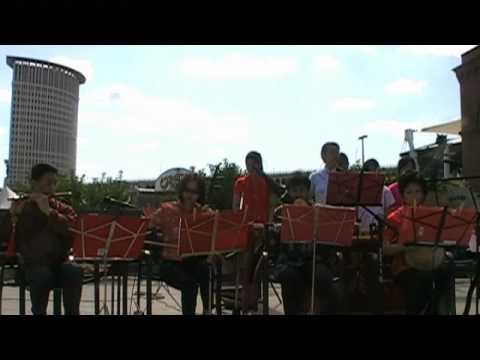 Cleveland Chinese Music Ensemble performs a Tai Chi song
