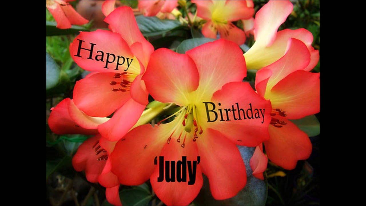 Happy birthday judy youtube happy birthday judy izmirmasajfo