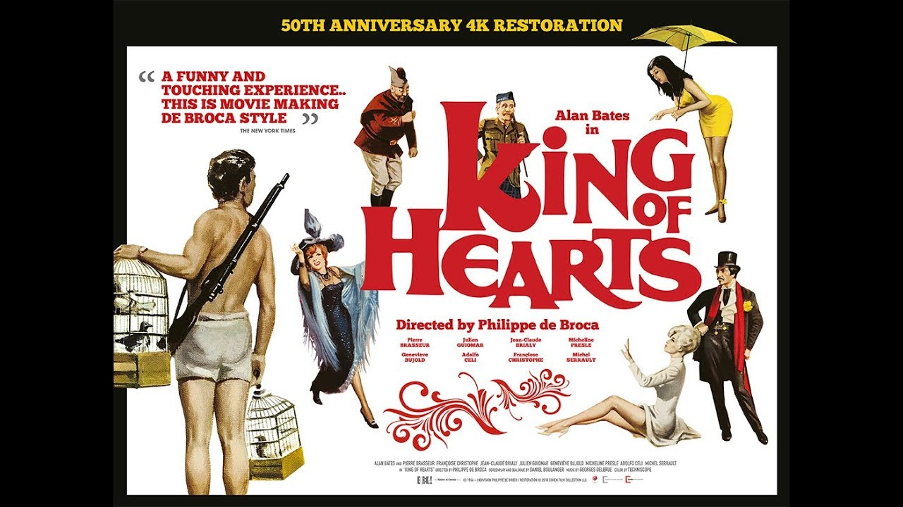 KING OF HEARTS Theatrical Trailer (UK & Ireland)