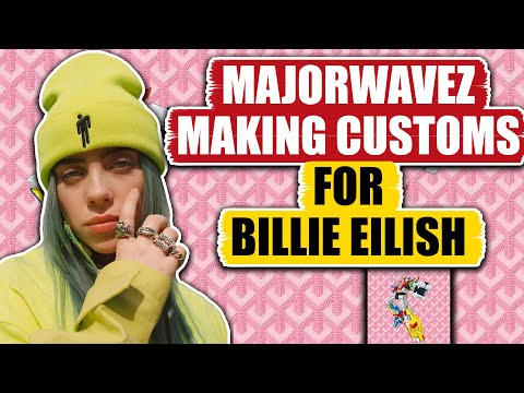 Making Custom A$AP Rocky SRLo For Billie Eilish