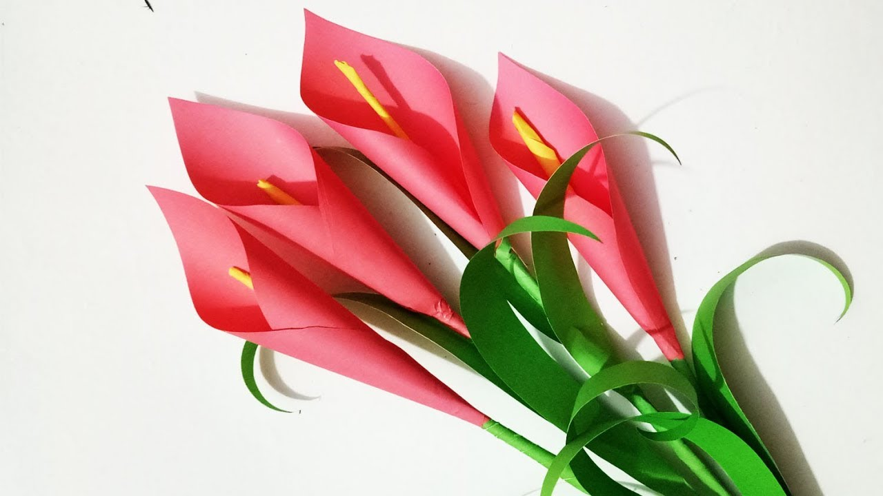 Origami Flower - Lily - YouTube | 720x1280