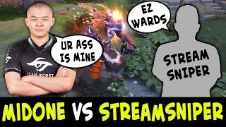 MIDONE vs STREAM SNIPER — your ass is mine!