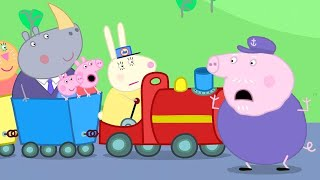 Opa's Kleine Trein 🚂 Tekenfilm | Peppa Pig Nederlands Compilatie Nieuwe