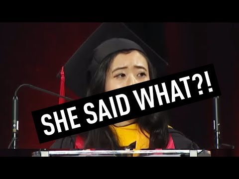 Chinese Student Blasted for Commencement Speech | China Uncensored