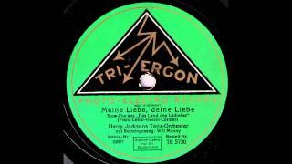 Meine Liebe, deine Liebe / Harry Jacksons Tanz-Orchester mit Gesang: Will Munny