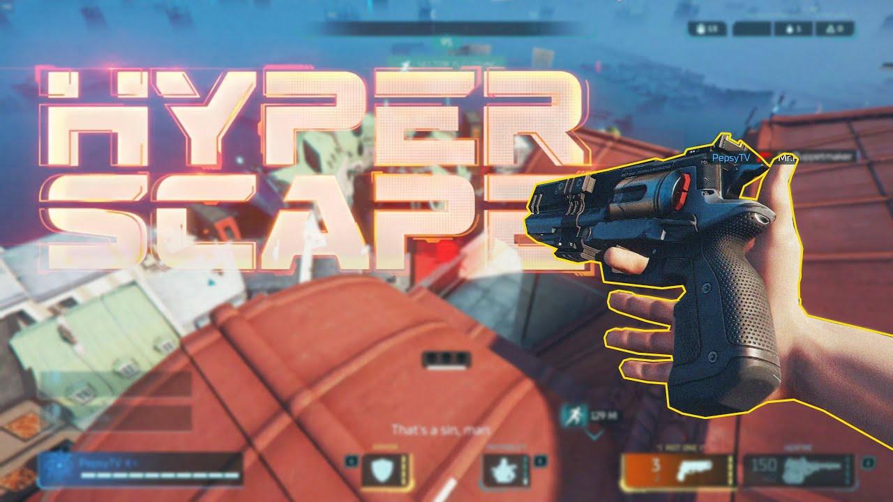 Pistolul asta este BRUTAL!   HyperScape   Noul Battle Royale Gratis