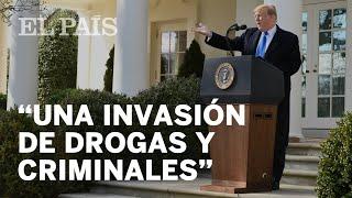 TRUMP declara la EMERGENCIA NACIONAL para hacer el MURO con México