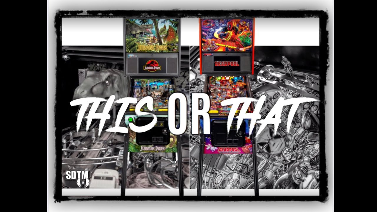 SDTM Pinball Ep 107: This Or That? (Rick & Morty, Jurassic Park, AFM alternate art, beer, & more!)