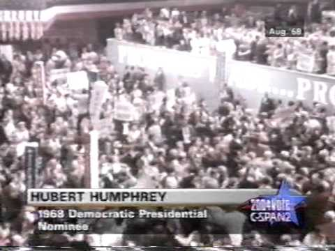 1968 Hubert Humphrey Democratic Convention Acceptance Speech