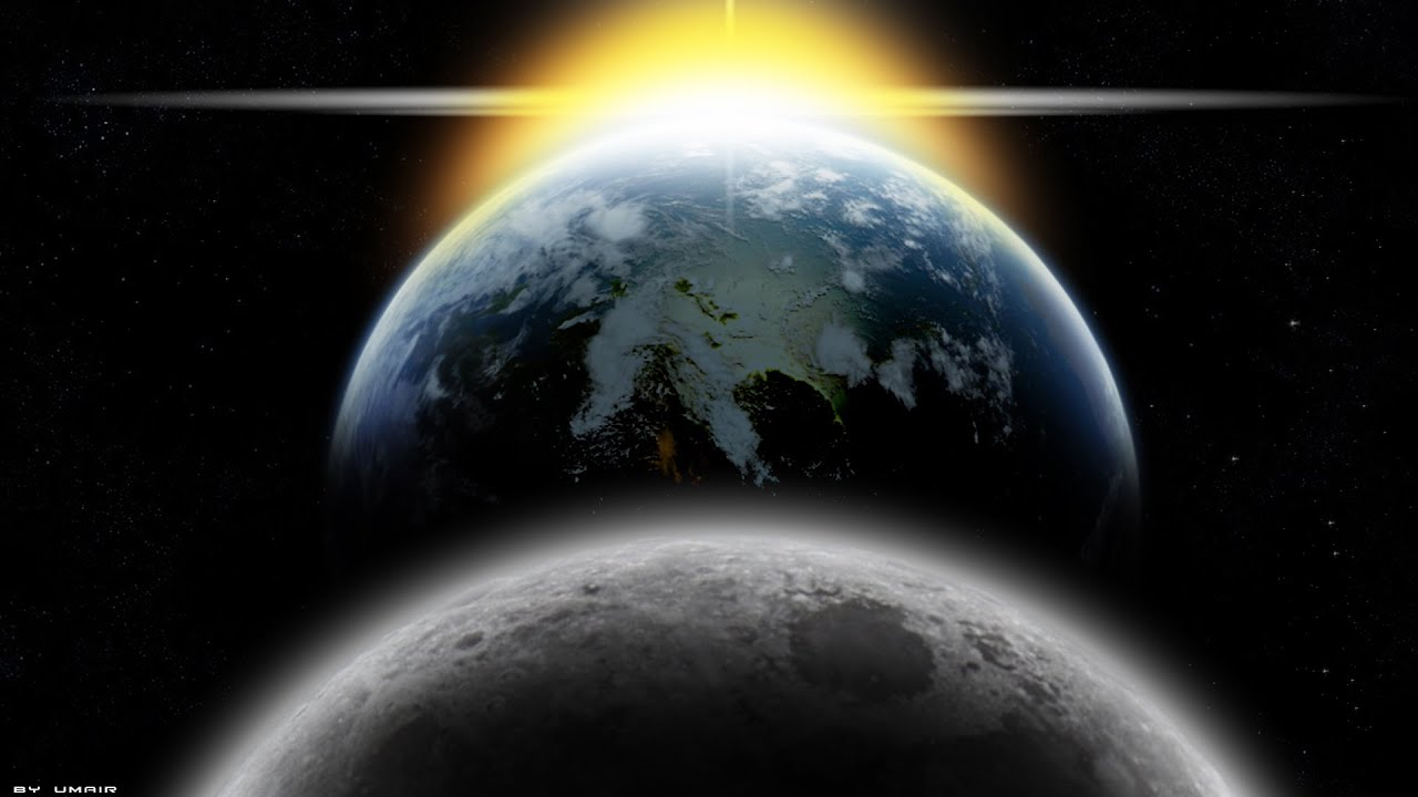 Sun Source Of Light Be Like A Moon Reflecting Light