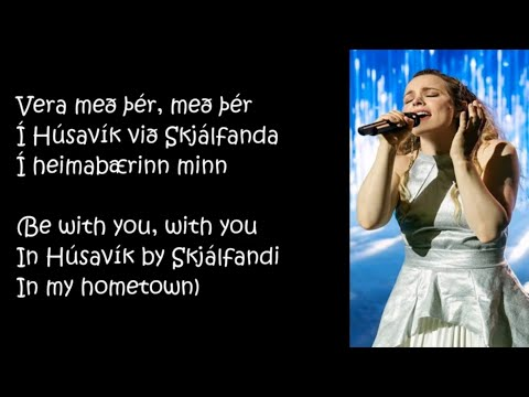 Molly Sandén - Husavik (Lyrics) (My Home Town) [Eurovision: Song Contest The Story of Fire Saga]