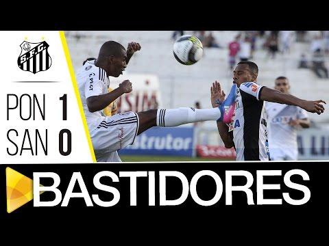 Ponte Preta 1 x 0 Santos | BASTIDORES | Paulistão (01/04/17)