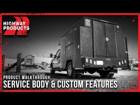 Highway Products | Service Body & Custom Service Body Features