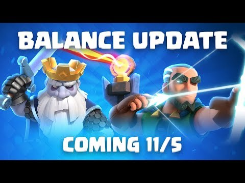 Clash Royale: Balance Update Coming! (11/5)