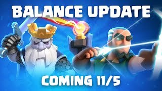 Clash Royale: Balance Update Live! (11/5)