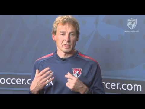 U.S. Soccer Interview with Jurgen Klinsmann: High Intensity Training