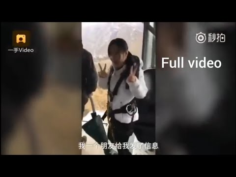 Bungee Jumping without rope - alternate angle FAKE Viral VIDEO, FULL VIDEO