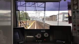2019.9.21(土)15:53 横浜市営地下鉄グリーンライン 後方展望【センター南〜センター北】