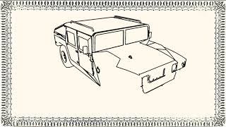 How to draw Hummer