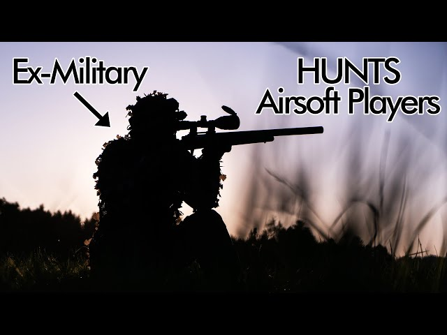 Ex-Military Sniper hunts down Airsoft Players!
