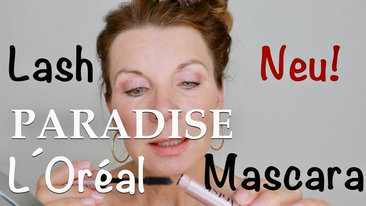 NEU aus der Drogerie❗️Lash PARADISE Mascara von L´Oréal im Test ⎮First Impression⎮Kirsty Coco