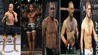 Evolution of Ufc in games (2000 - 2018)